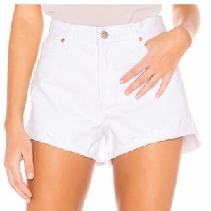 NWT Pistola Size 25 White Denim shorts